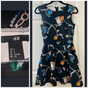 H&M jewel / gem dress - small